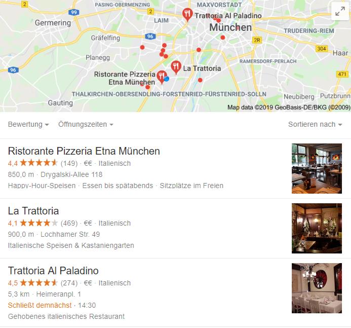 Der Google My Business Account ist ein wichtiger Faktor für eine durchdachte Local SEO.